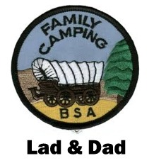 P-27 June Lad & Dad Campout @ Camp Thunderbird