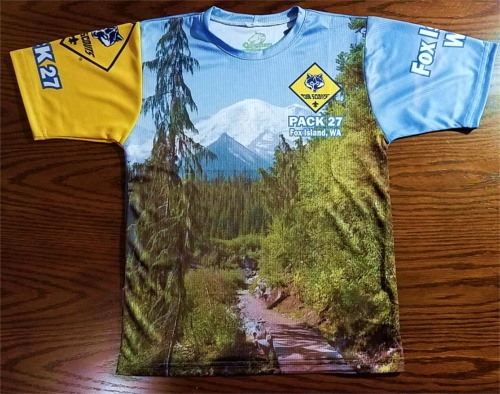 Pack 27 Cub Scout T-Shirt Order