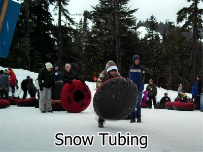 P-27 Snow Tubing at Snoqualmie Pass